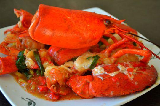 tu海鲜餐:体验正宗泰式烧海鱼,焖蟹,炒鲜蛤,普吉大龙虾    ★普吉岛花