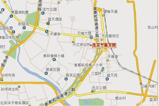 北京竺航宾馆有限公司交通位置