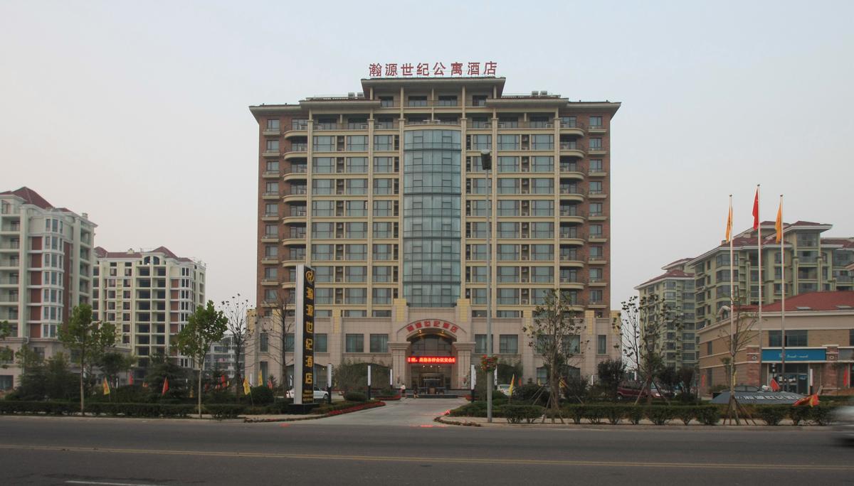 装修运作的星级酒店,位于青岛市城阳区惜福镇生态区
